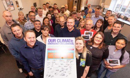 Rowlinson Knitwear signs climate emergency declaration