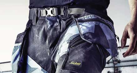 Snickers launches new Flexi work trousers