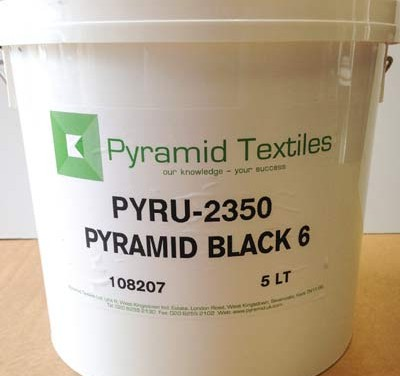 Pyramid Textiles – New black ink and discharge white