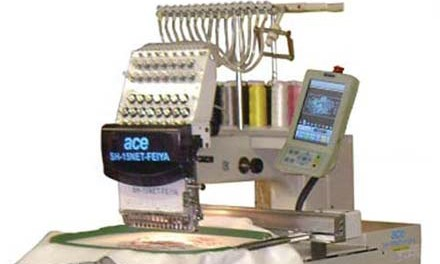 Embroidery machines: Introducing the ACE-FEIYA SH15TS
