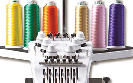 Embroidery machines: The Brother PR machines