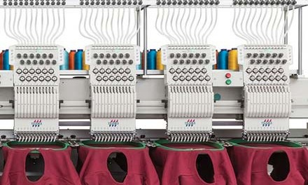 Embroidery machines: Three new Tajima models