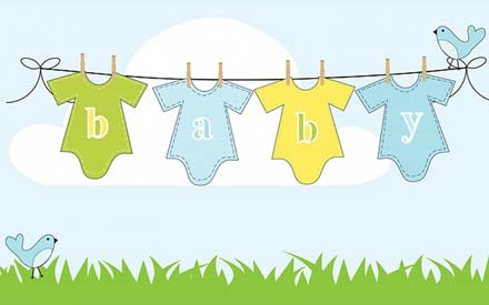 How to embroider babywear