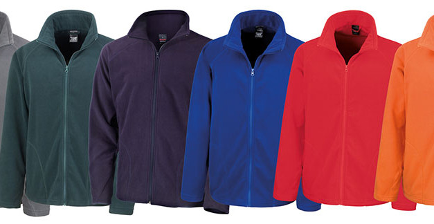 New colours for Result R114X Micro Fleece Jacket