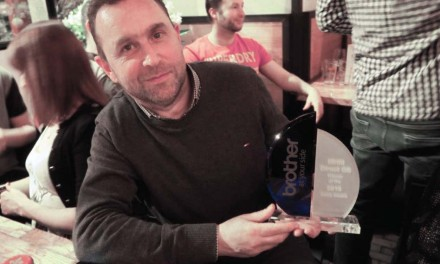 MHM Direct GB wins Brother Sales Award – again