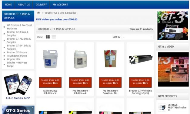 GS UK launches new webshop