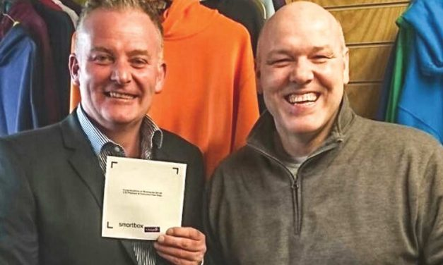 Kevin Willis wins the GS UK prize draw