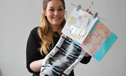Buckinghamshire New University student wins textile award