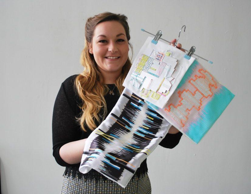 Buckinghamshire New University student wins textile award