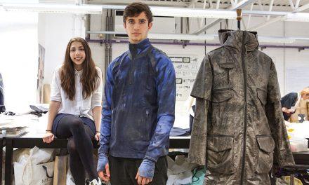 Student creates smart sportswear