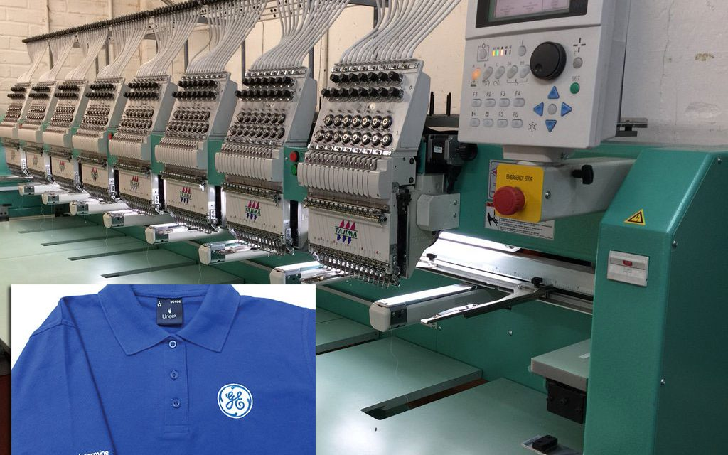 Imprint focuses on contract work with arrival of new embroidery machine