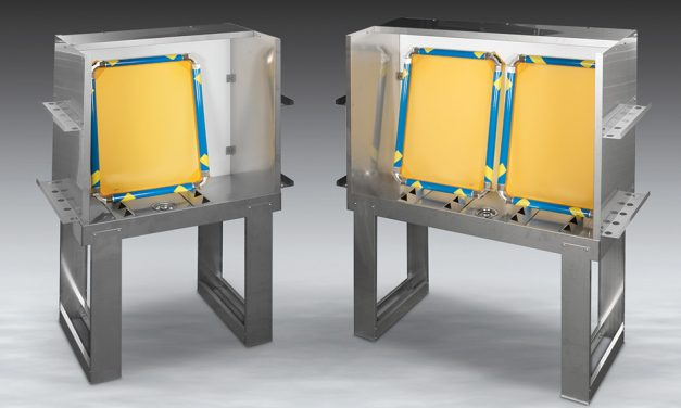 Vastex launches new taller screen washout booths