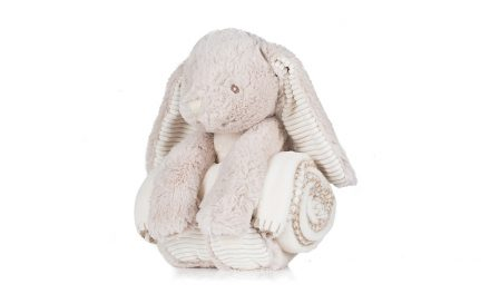 Mumbles introduces new bunny blanket