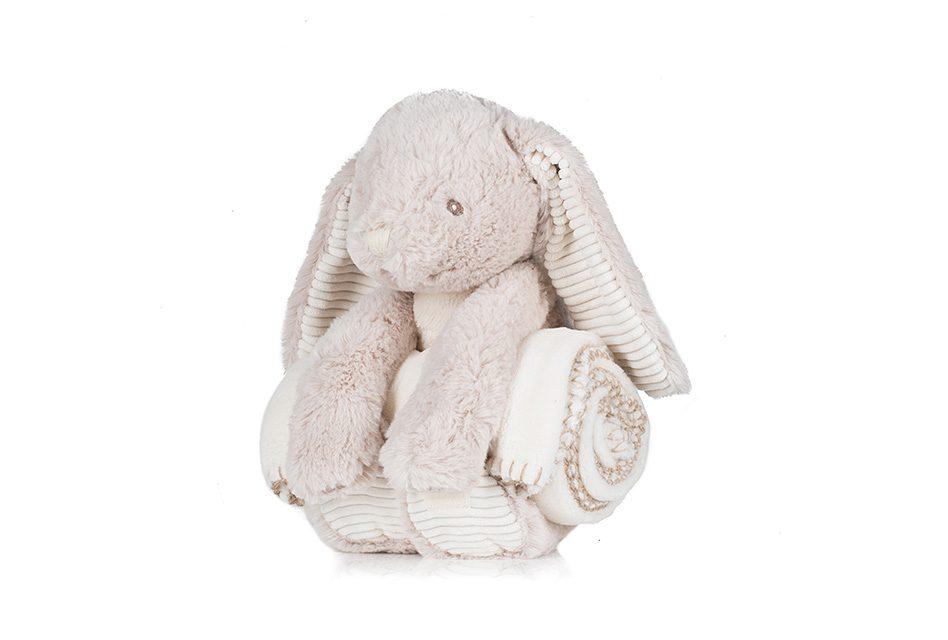Mumbles introduces new bunny blanket