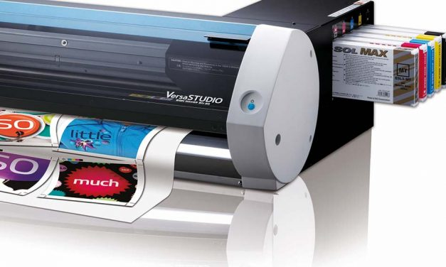 Roland DG – Print and cut with Eco-Sol Max