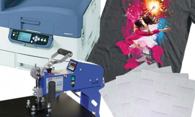 Amaya Sales UK – Forever transfer papers, Oki printers and heat presses