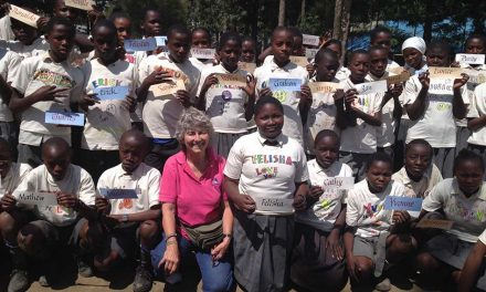 PAG Leisurewear donates Gildan tees to Kenyan school