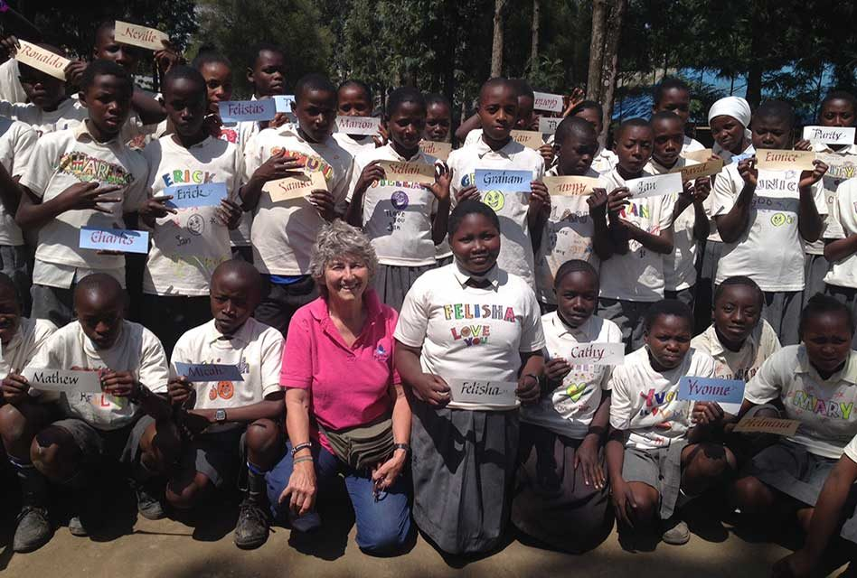 PAG Leisurewear donates Gildan tees to Kenyan school