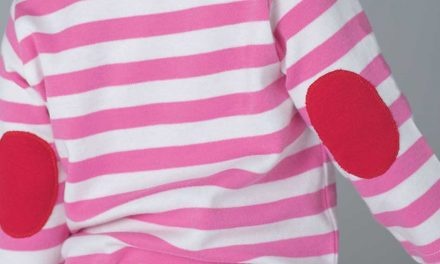 The Baby Stripy Long Sleeve T from Babybugz