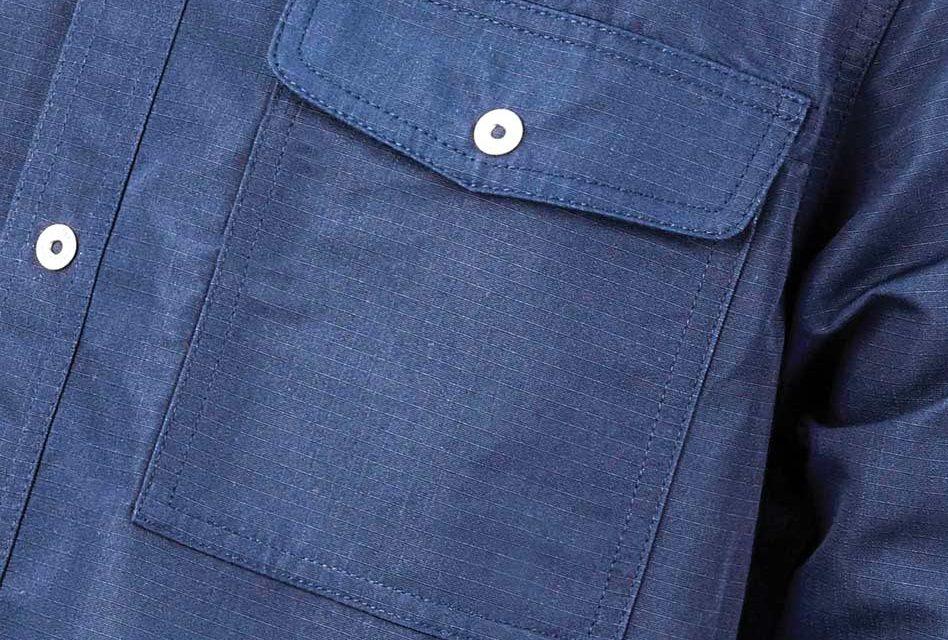 Embroidering shirt pockets