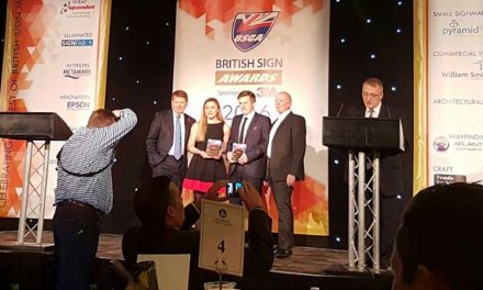 Young talent shares Roland DG Young Signmaker of the Year award