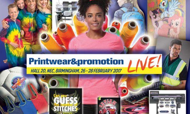 Printwear & Promotion Live! 2017 preview