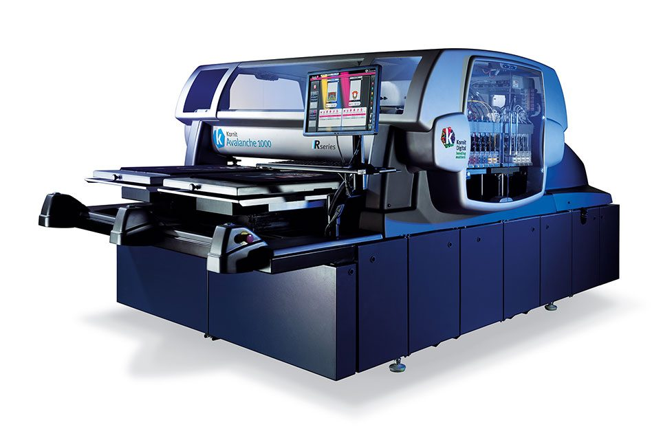 Kornit unveils new Avalanche R-Series printers