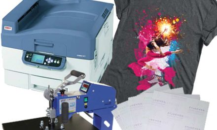 Amaya: Texjet printer and Forever transfer paper