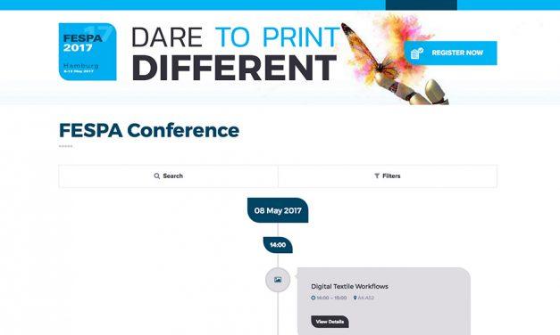 Fespa 2017 unveils its international conference programme