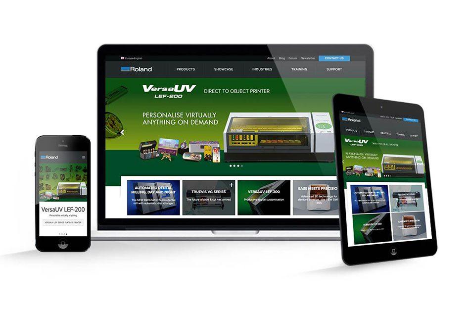 Roland DG's new website goes live