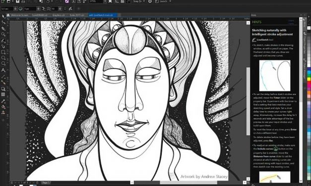 New CorelDraw Graphics Suite 2017 introduces groundbreaking LiveSketch