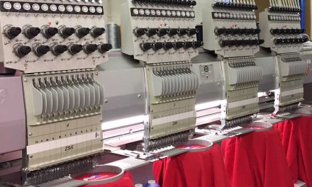 Telling it like it is: Embroidery machinery