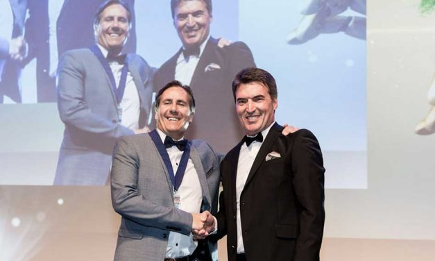 Christian Duyckaerts is inaugurated as the new president of Fespa