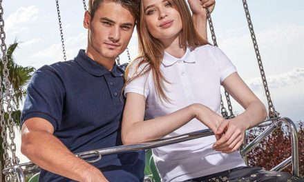 Talking polo shirts with Sarah Clark