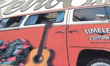 Retro Classic Clothing: Vintage campervan T-shirt