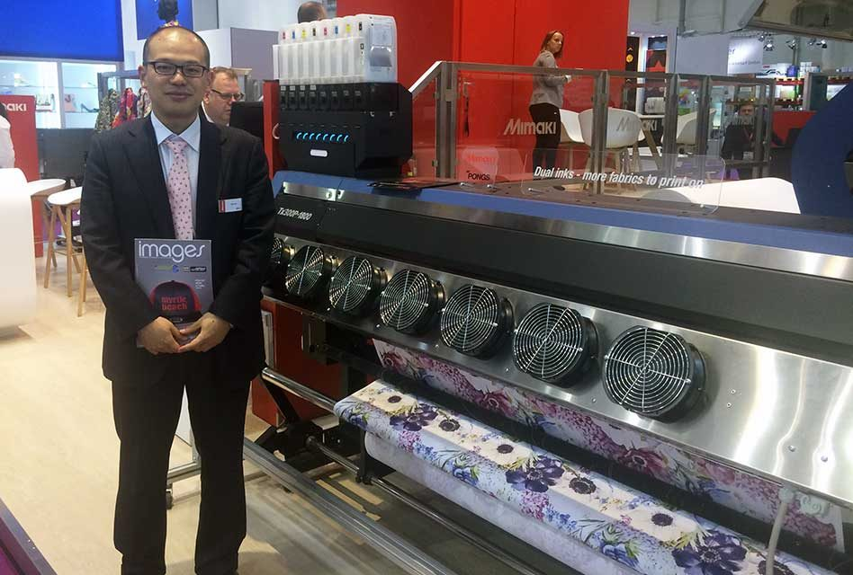 Yuji Ikeda appointed as MD of Mimaki Europe