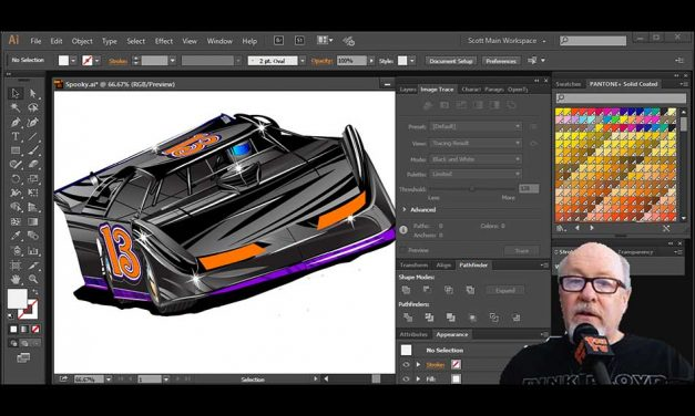 New T-shirt graphic courses from Scott Fresener