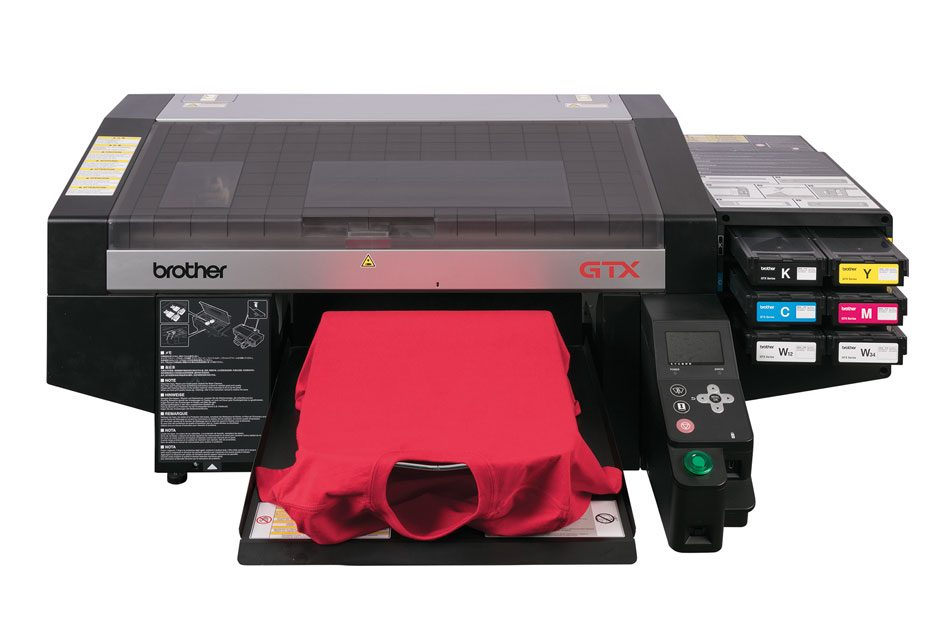 Brother DTG launches new single-pass GTX printer