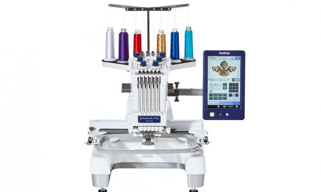 New Brother PR670e embroidery machine raises the bar for home-based entrepreneurs