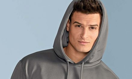 Performance Adult Tech Hooded Sweatshirt from Gildan