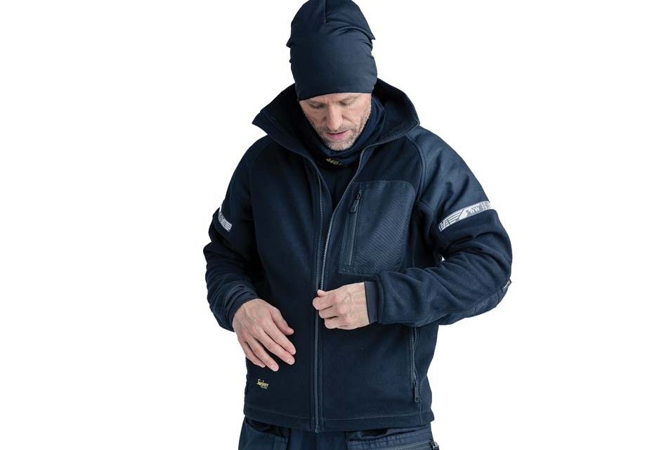 New Windproof Fleece Jacket from Snickers