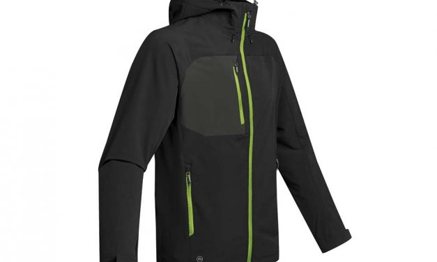 New for autumn – the Stormtech Sidewinder Shell