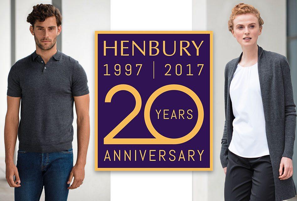 Henbury celebrates 20 years of innovation and reliability