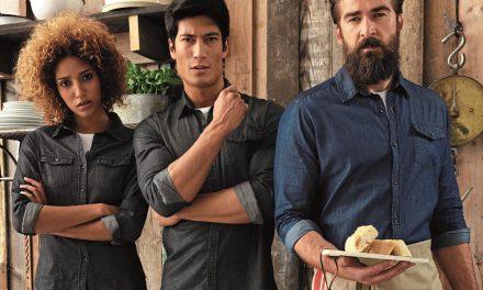Jeans Stitch Denim Shirt from Premier Clothing