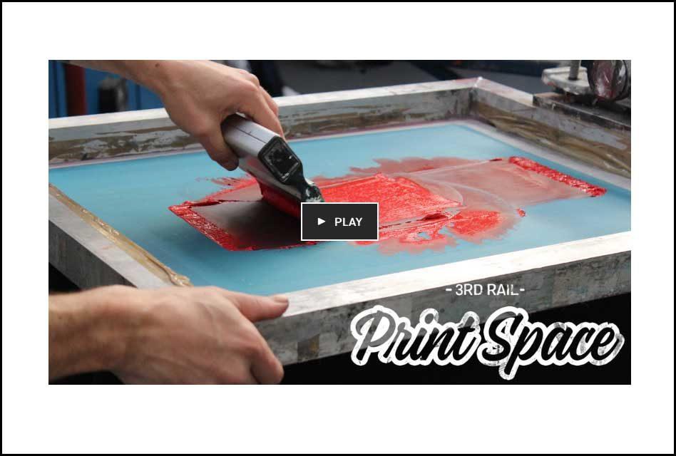 3rd Rail's screen print Kickstarter nears target with days to go