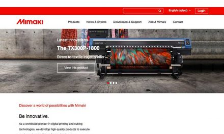 Mimaki updates European website