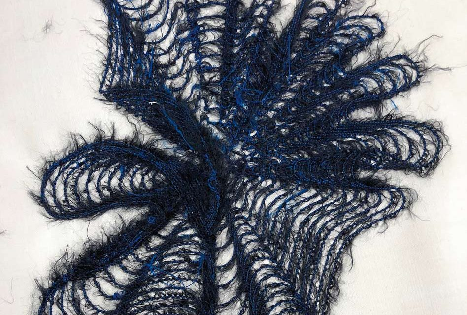 Spiral Stitch embroidery by Pete Tarrant