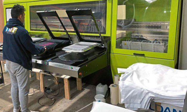 Digital Helpdesk: Learning the lessons of DTG printing