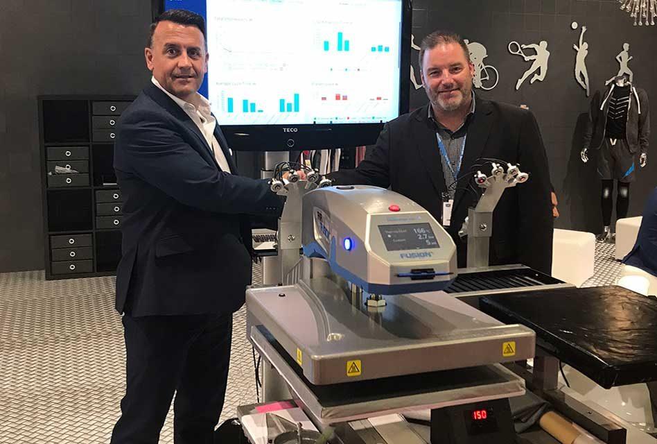 Hotronix Fusion heat press gains advanced wireless capabilities