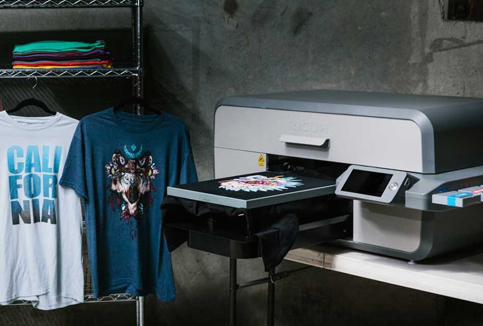 New working partnership brings Ricoh DTG printers to the UK